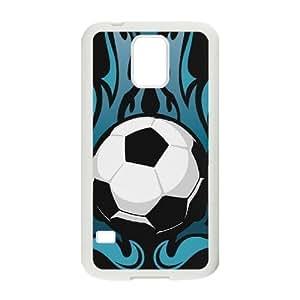 Soccer Ball DIY Cell Phone Case for SamSung Galaxy S5 I9600 LMc-19323 at LaiMc
