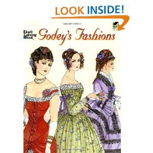 Coloring Books for Seniors: Including Books for Dementia and Alzheimers - Godey's Fashions Coloring BookDover Fashion Coloring Book