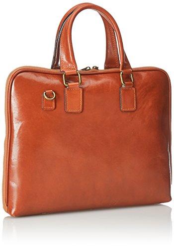 Orange travail 38x28x7cm 100 de cuir en femmes serviette de sac Italie de Fabriqué Cuoio véritable CTM 8wqR0Y60