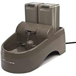 PetSafe Drinkwell Indoor/Outdoor Dog Fountain, Pet Drinking Fountain for Dogs and Cats, 450 oz. Water Capacity