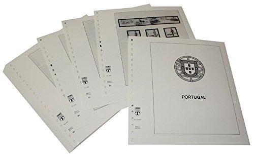 Lindner T Vordruckblätter T220 84 Portugal - Jahrgang 1984 bis 1989