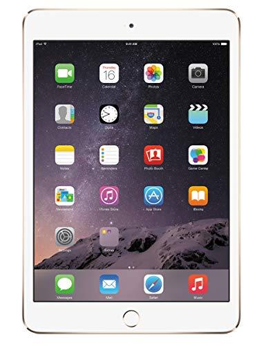 Apple iPad Mini 3 MGYE2LL/A VERSION (16GB, Wi-Fi, Gold) (Renewed) (Best Mouse On The Market)