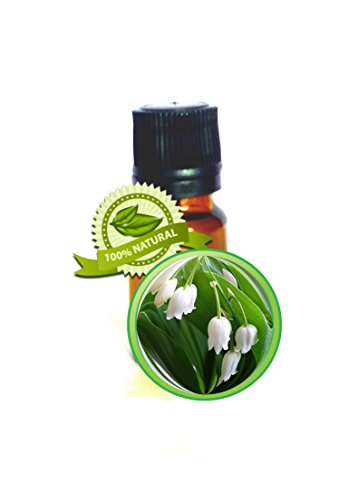 Muguet Absolute (Lily of the Valley) Essential Oil - 100% PURE Convallaria Majalis - 10ml, 1/3oz