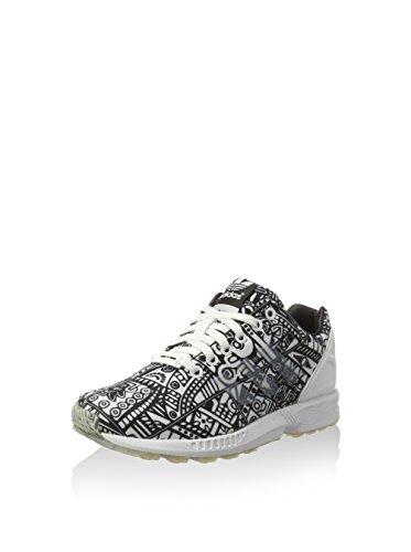 adidas Zapatillas ZX Flux Blanco / Negro EU 36 (UK 3.5)