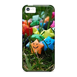 Cases Covers Compatible For Iphone 5c/ Hot Cases/ Happy Stars