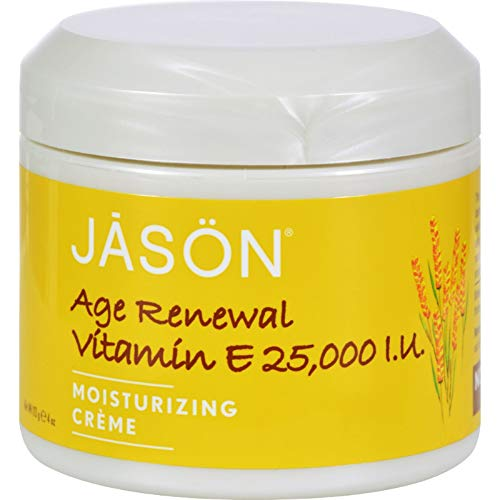 Vitamin E Age Renewal Moisturizing Crème 25000 Iu 4 Ounce (113 Grams) Cream