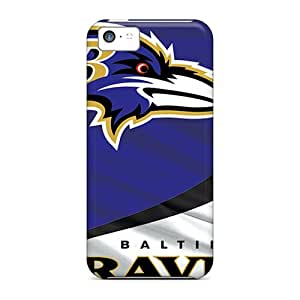LifeLeader Design High Quality Baltimore Ravens Cover Case With Excellent Style For Iphone 5c