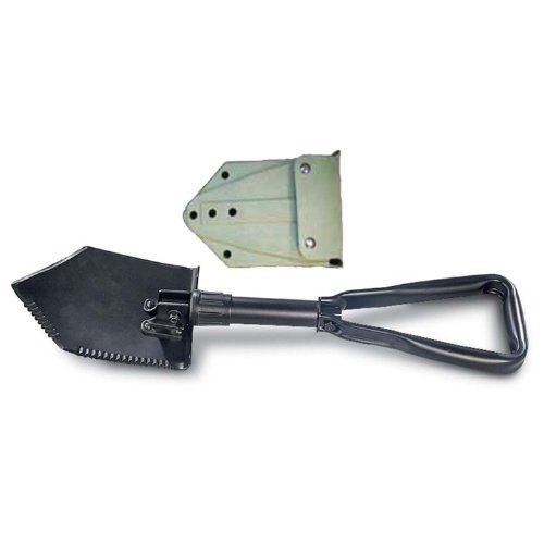 (Military Outdoor Clothing Previously Issued U.S. G.I. Military Tri-Fold Shovel)