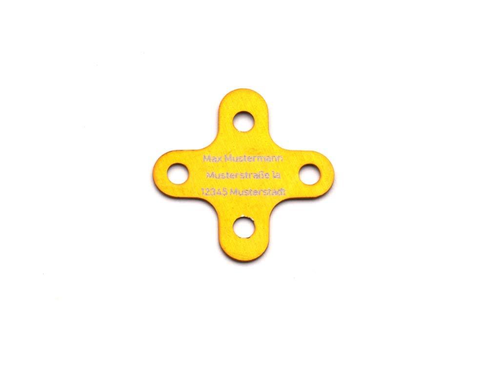 CopterFarm Copter - Placa identificativa (versión X, 4 Unidades ...