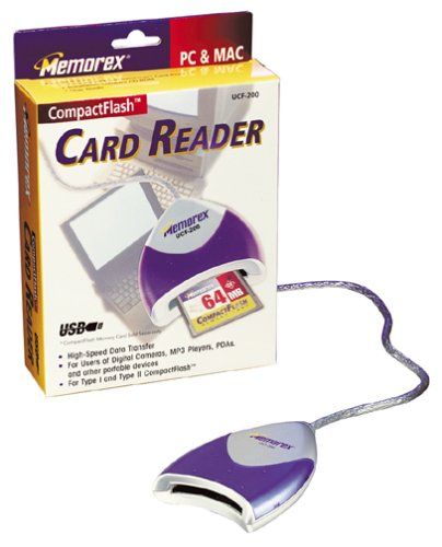 NEW DRIVERS: MEMOREX CF READER