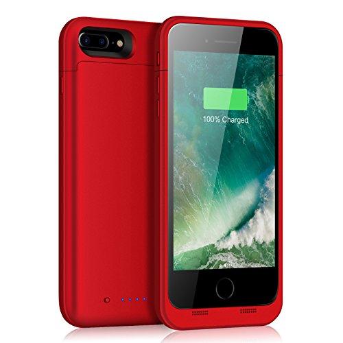 iPhone 7 Plus 8 Plus Battery Case 7000mAh Portable Extended Juice Pack Charging Case for iPhone 8 Plus 7 Plus(5.5