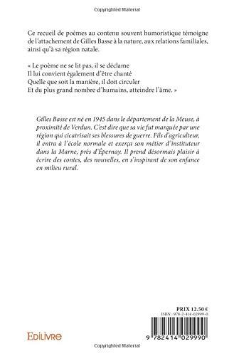 Amazonfr Poèmes Gilles Basse Livres