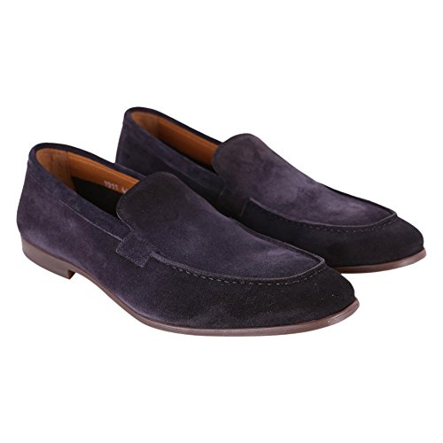 DOUCAL'S Men's DU1911ELBAUZ0670B00 Blue Leather Loafers SL6XKcB