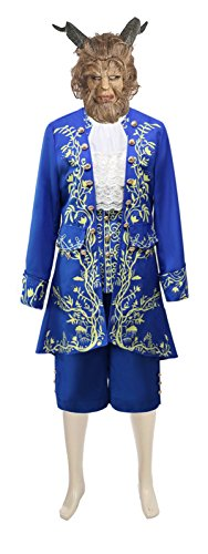 HalloweenCostumeParty Beauty and The Beast Prince Dan Stevens Uniform Costume Outfit Suit (Otaku House Costumes)
