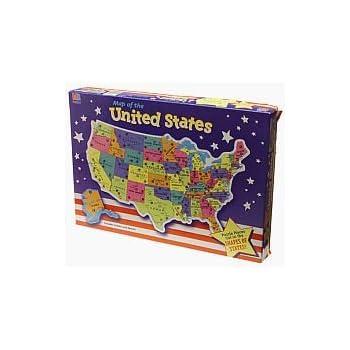 Amazoncom US Map Puzzle Toys Games - Us maps puzzle