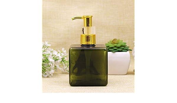 7e3230467352 Amazon.com: YyZKO one piece 250ml plastic bottle, Aluminum oil pump ...
