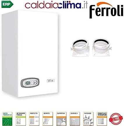 Caldera de condensación Ferroli Divacondens Plus D F24-24kw Metano