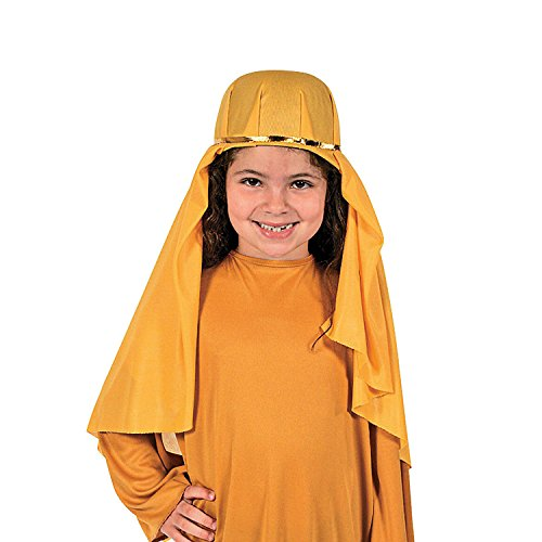 Goldenrod Nativity Child