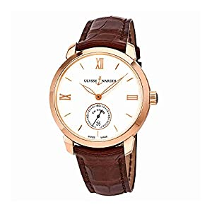 Ulysse Nardin Classico 18K Rose Gold Automatic Mens Watch 3206-136-2-31