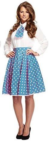 Disfraz Adulto De Lunares falda / Corbata Azul: Amazon.es ...