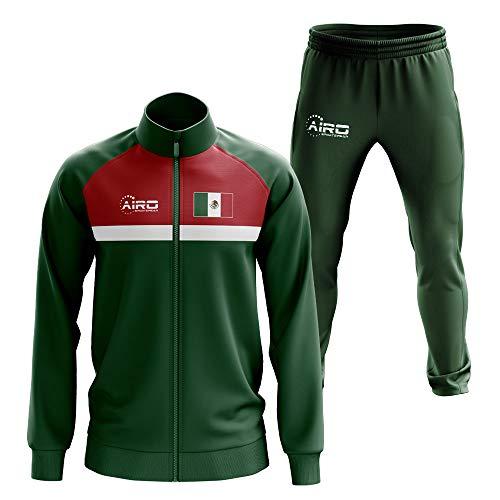 - Airosportswear Mexico Concept Football Tracksuit (Green)