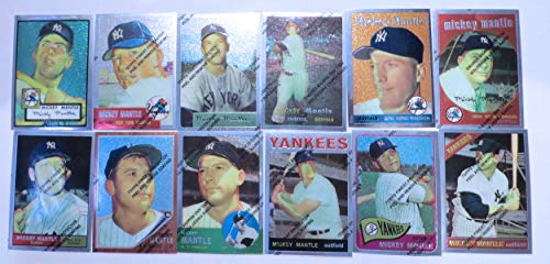 1996-97 Topps Finest Mickey Mantle Commemorative Complete Set (36) Yankees