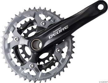 Shimano Deore SL 2 piece 9 Speed Mountain Bicycle Crank Set FC M590