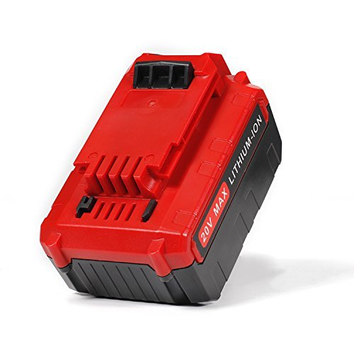 LENOGE 20V 5000mAh Lithium Replacement Battery for Porter Cable PCC685L PCC685LP PCC680L PCC682L PCC681L PCC680L PCC682L PCC600 PCC640 PCCK602L2 Cordless Power Tools (2 Pack) by LENOGE (Image #1)