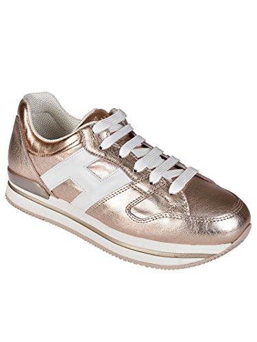 in HXW2220T548I8G089A Sneaker Hogan H222 Bronzo Donna Marrone Pelle wq7aHaWE