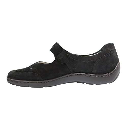 Waldlaufer Womens Henni 496309 Nubuck Shoes Schwarz sale explore 7yidYP