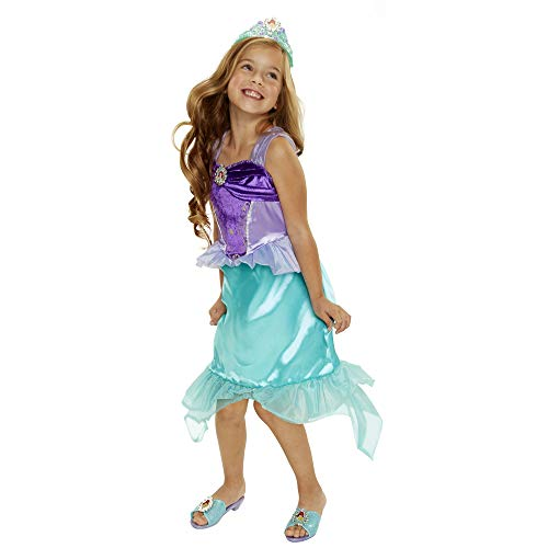 - Disney Princess Heart Strong Ariel Dress (Renewed)