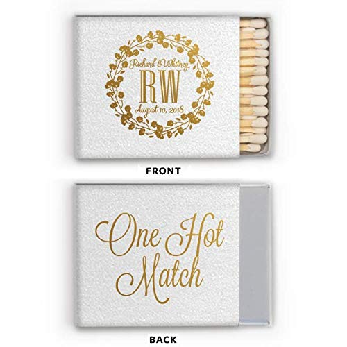 Personalized Matches, Matchbox Wedding Favors, Wedding, A Perfect Match, Decorative Matchbox 296]()