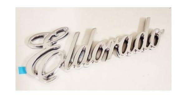 "NEW Cadillac /""Biarritz/"" CHROME EMBLEM"
