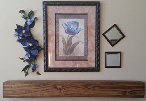 u-pick-size-finish-rustic-faux-wood-beam-floating-shelf-fireplace-mantel