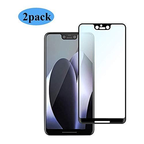 [2PACK] for Google Pixel 3 XL Screen Protector,Thierfy[9H Hardness][Full Coverage][Ultra HD][Case Friendly][Anti-Scratch][Anti-Fingerprint][Anti-Bubble] Screen Protector for Google Pixel 3 XL