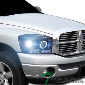 Topline Autopart Projector Headlights Parking