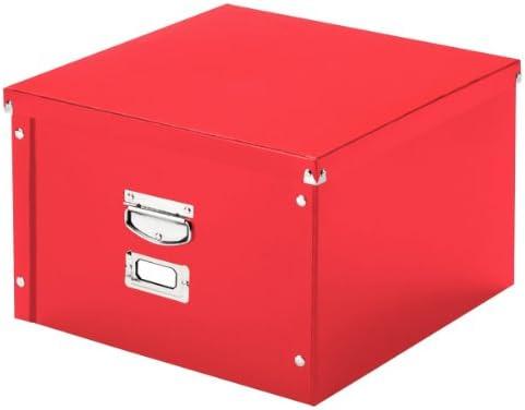 Leitz 60610025 Archivschachtel Snap'n'Store mittel, Hartpappe, rot