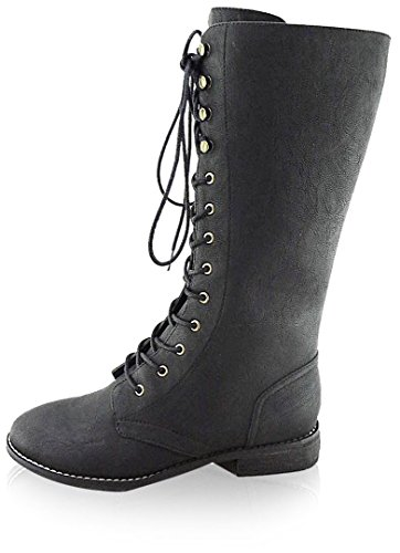 C-label Donna Alanis-10 Boot Nero