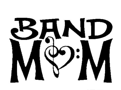 CCI Band Mom Decal Vinyl Sticker|Cars Trucks Vans Walls Laptop| Black |5.5 x 3.5 in|CCI1383 (Best Episodes Of Dance Moms)