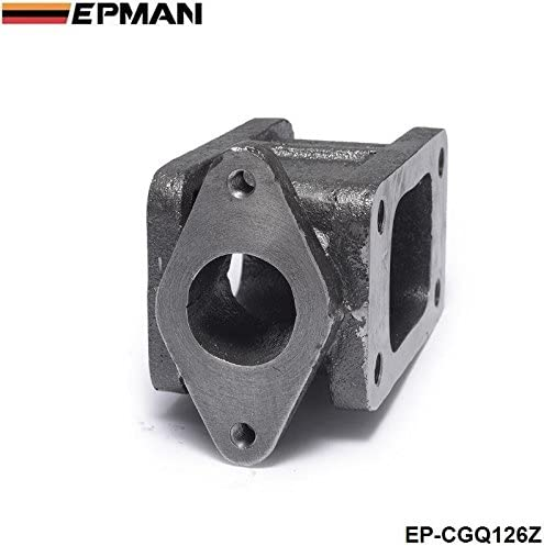 304 Stainless Steel B Baosity T3 To T3 Turbo Adapter Flange Cast 38mm External Wastegate Relocation