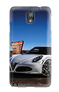 Thomas Jo Jones's Shop Lovers Gifts 69S800O1SNI3X86I New Tpu Hard Case Premium Galaxy Note 3 Skin Case Cover(alfa Romeo 4c 23)