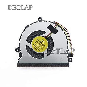 DBTLAP Nuevo Ventilador de la CPU del Ordenador portátil para HP 15-G000 15-G100 15-R000 15-R100 15-G029WM 240G3 DFS470805CL0T FFG7 753894-001 CPU ...