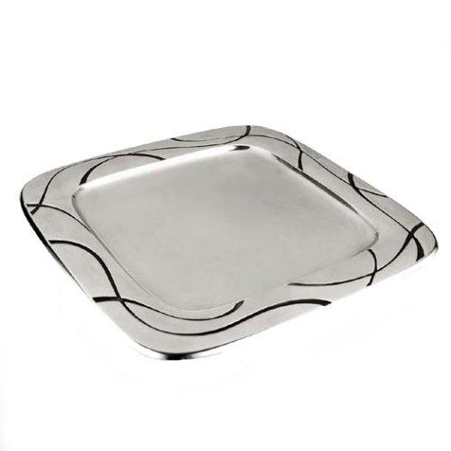 Lenox Vibe Metal Square Tray (Lenox Platter Square)