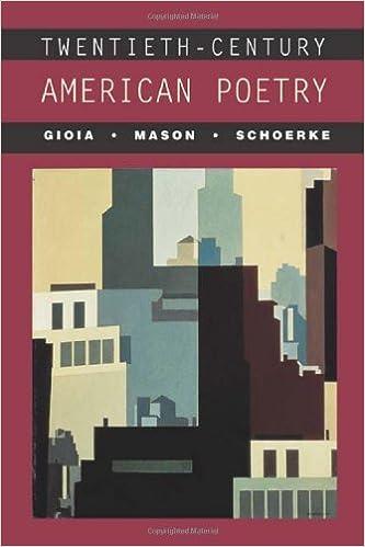 Book Twentieth-Century American Poetry by Dana Gioia (2003-12-26)