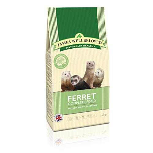 James Wellbeloved Ferret Complete Dry Food (4.4lbs) (May Vary)