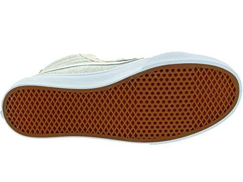 Vans Unisexe Sk8-hi Slim Zip (cravate Suède) Blanc Chaussure De Skate 5 Hommes Nous / 6.5 Femmes Nous
