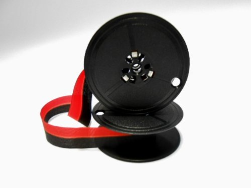 nero//rosso Nastro Compatibile con die Olivetti TW Spool Ribbons Marca Nastrofabrik Original Gr.5