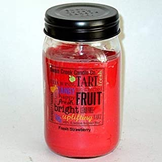product image for Swan Creek 100% American Soybean 24 Oz. Jar Candle - Fresh Strawberry
