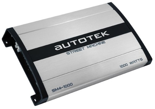 Amazon.com: Autotek Street Machine SM4-1000 500x2 Maxx Watt Power A/B Class Four-Channel Amplifier: Car Electronics