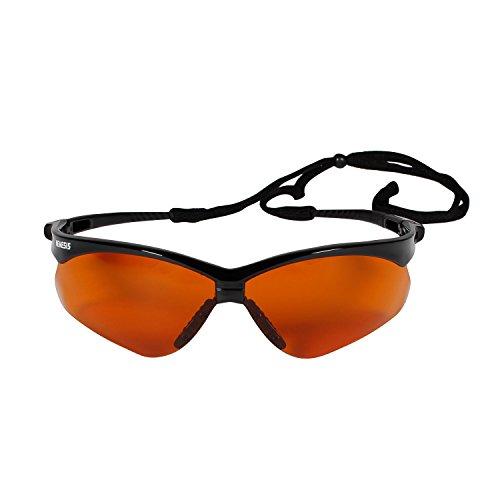 Jackson Safety 19642 V30 Nemesis Safety Glasses, Copper